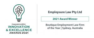 Innovation and Excellence Award Winner Employsure
